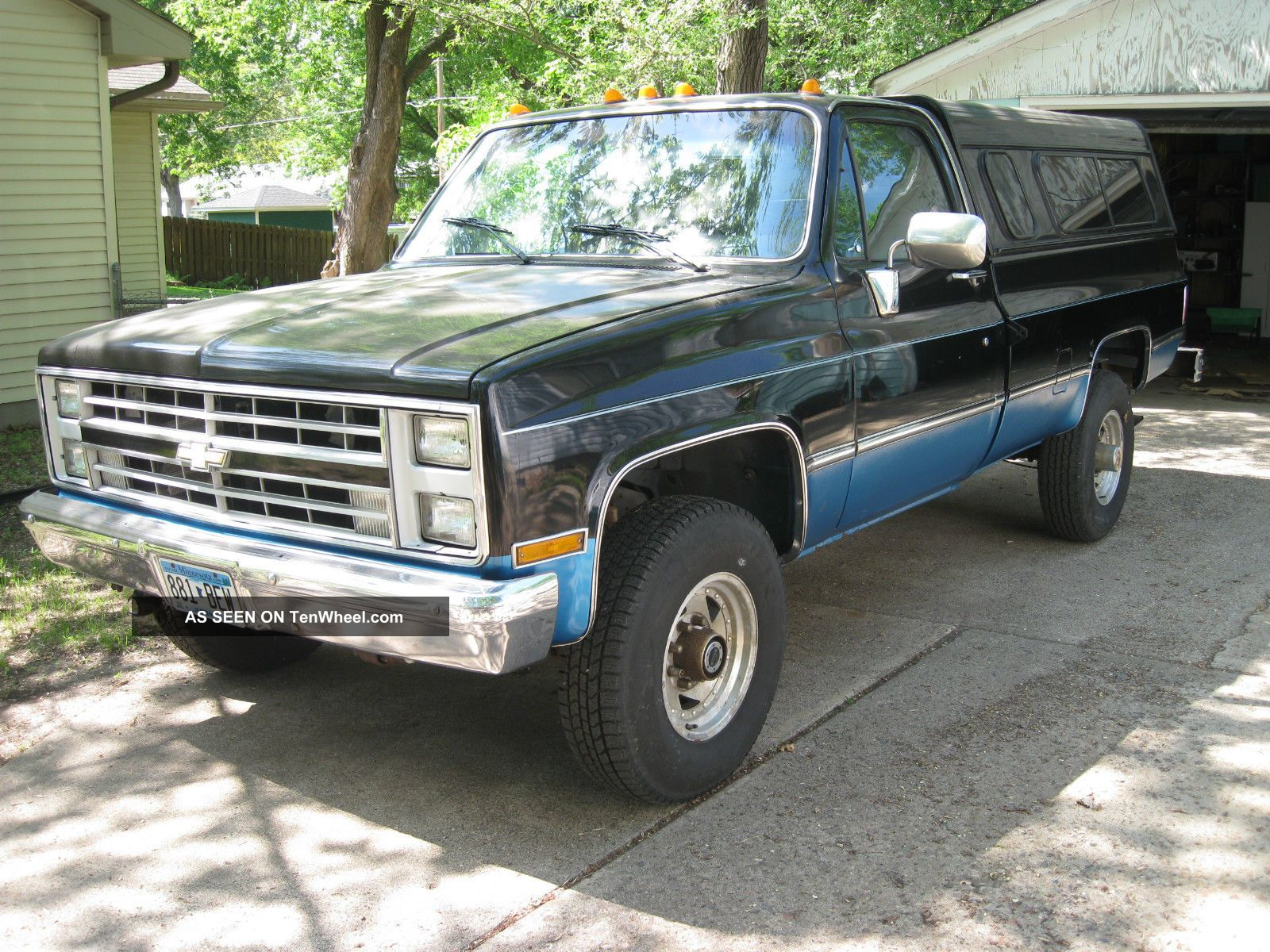 1977 Chev Pick Up With 1986 4x4 Drive Train And Suspension. C/K Pickup