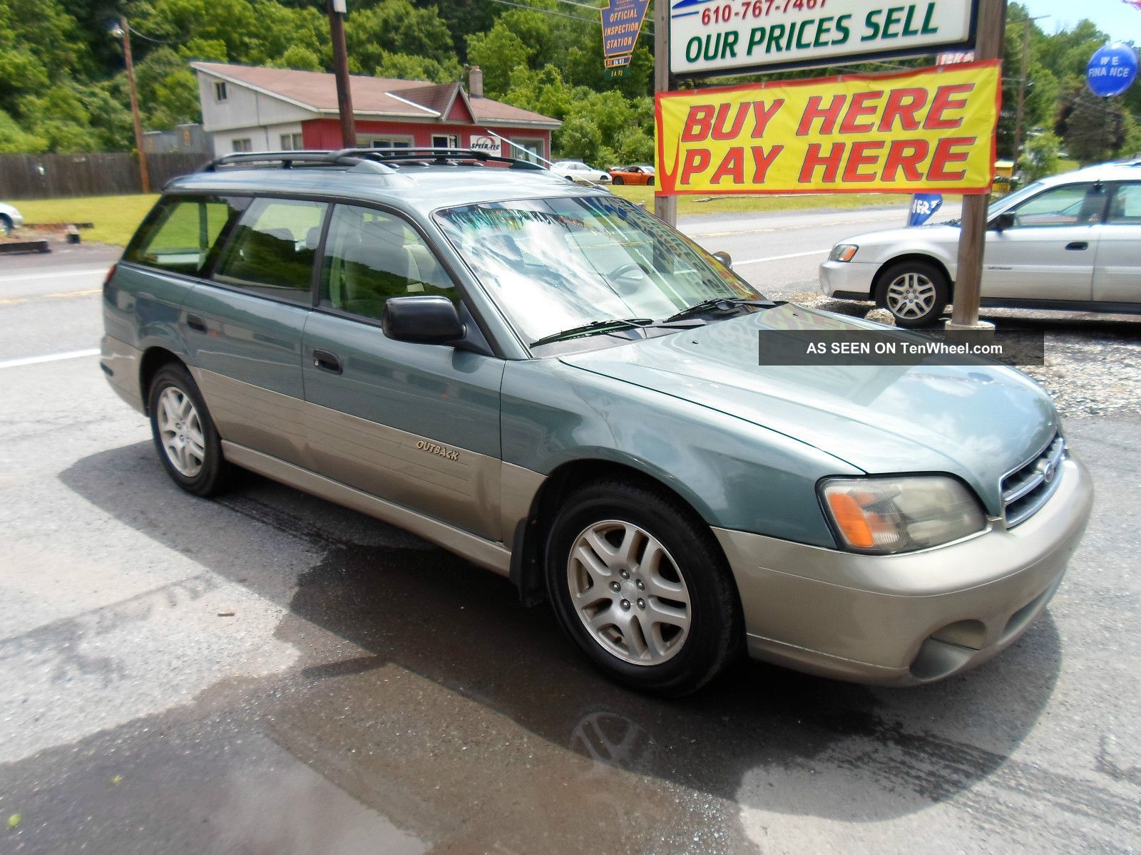 2001 Subaru Legacy Outback Outback photo