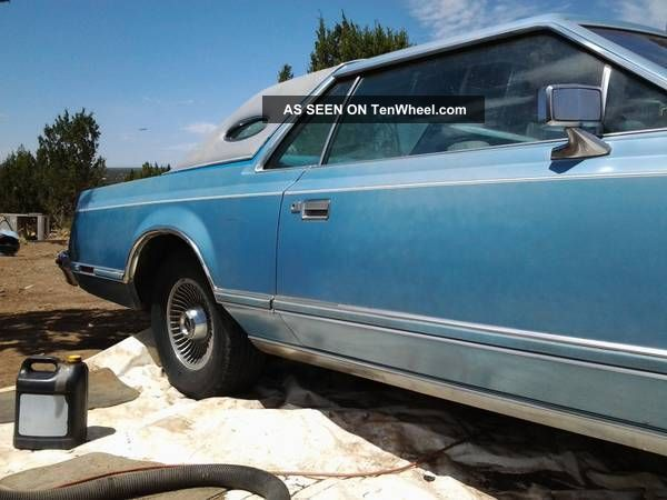 1978 Lincoln Mark V Base Coupe 2 - Door 7.  5l Mark Series photo