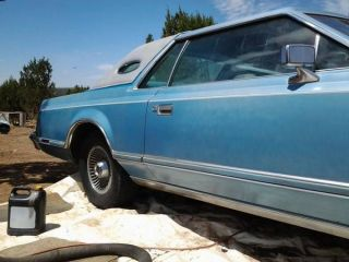 1978 Lincoln Mark V Base Coupe 2 - Door 7.  5l photo