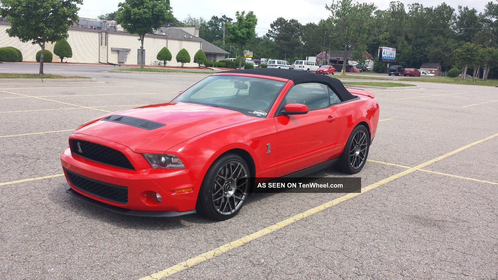 2012 ford mustang shelby gt500 race red convertible 5 4l supercharged v8. Black Bedroom Furniture Sets. Home Design Ideas