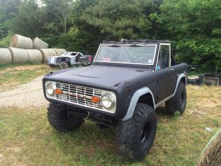 1974 Ford Bronco Ranger Restoration Project photo