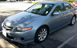 2006 Acura Tsx Base Sedan 4 - Door 2.  4l photo