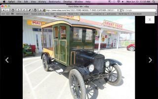1921 Ford Model T Huskster photo