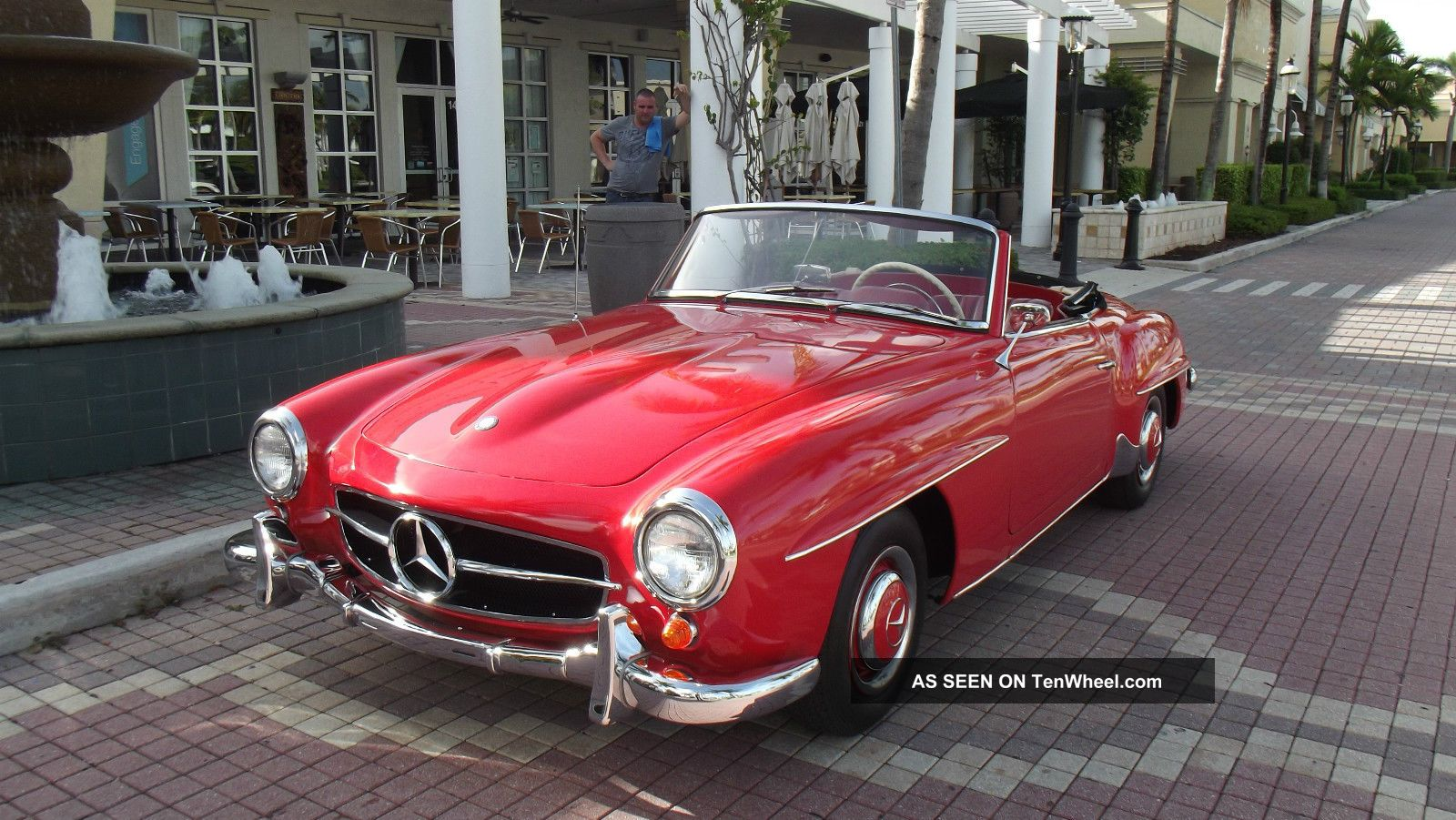 Mercedes Benz Sl Red With Red Interior Condition Lgw