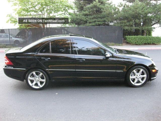 2007 Mercedes Benz C230 Sport Sedan 4 Door 2 5l