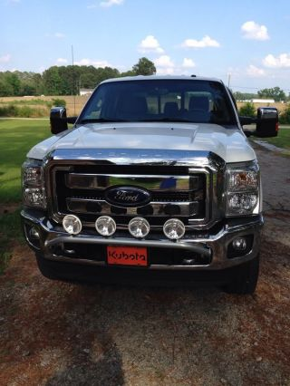 2012 Ford F250 Xlt,  Fx4, ,  Chrome Pkg photo