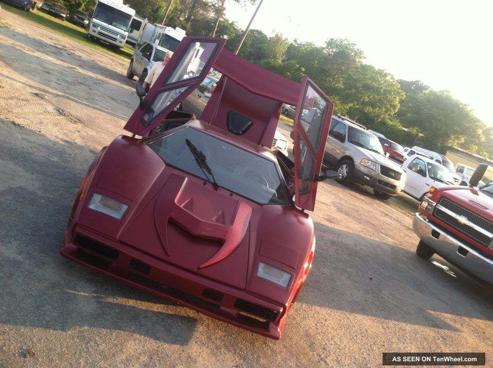 Lamborghini Countach Replica 1989 Replica/Kit Makes photo