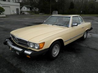 1982 Mercedes 380 Sl photo