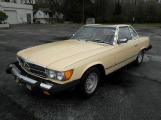 1982 Mercedes 380 Sl photo