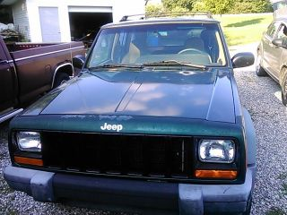 1999 Jeep Cherokee Classic Sport Utility 4 - Door 4.  0l photo