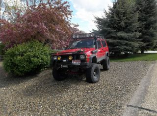 1996 Jeep Cherokee Se Sport Utility 2 - Door 4.  0l Xj photo