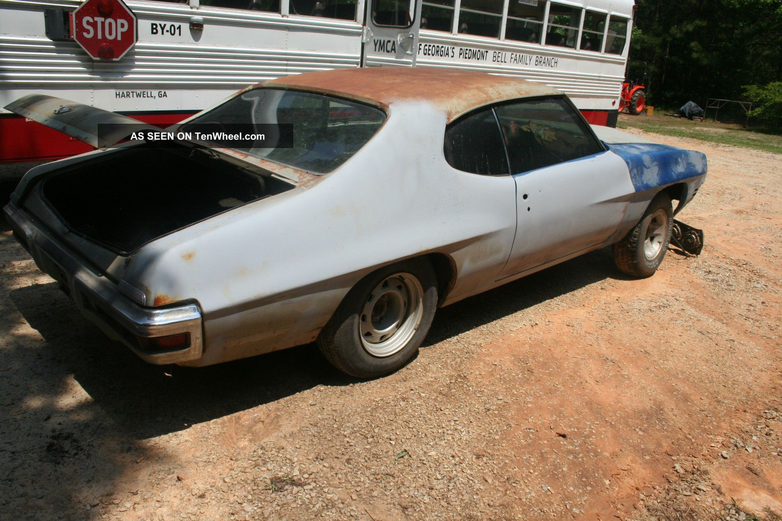 1972 pontiac le mans project car great piece to restore. Black Bedroom Furniture Sets. Home Design Ideas