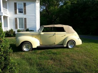 1939 Ford Convertible / Ground Up Restoration photo