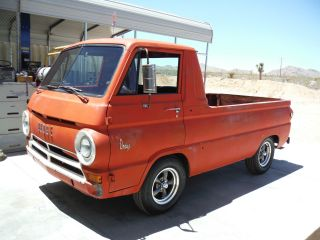 1966 Dodge A100 Pickup Rare 318ci.  California Car,  Looks Great photo