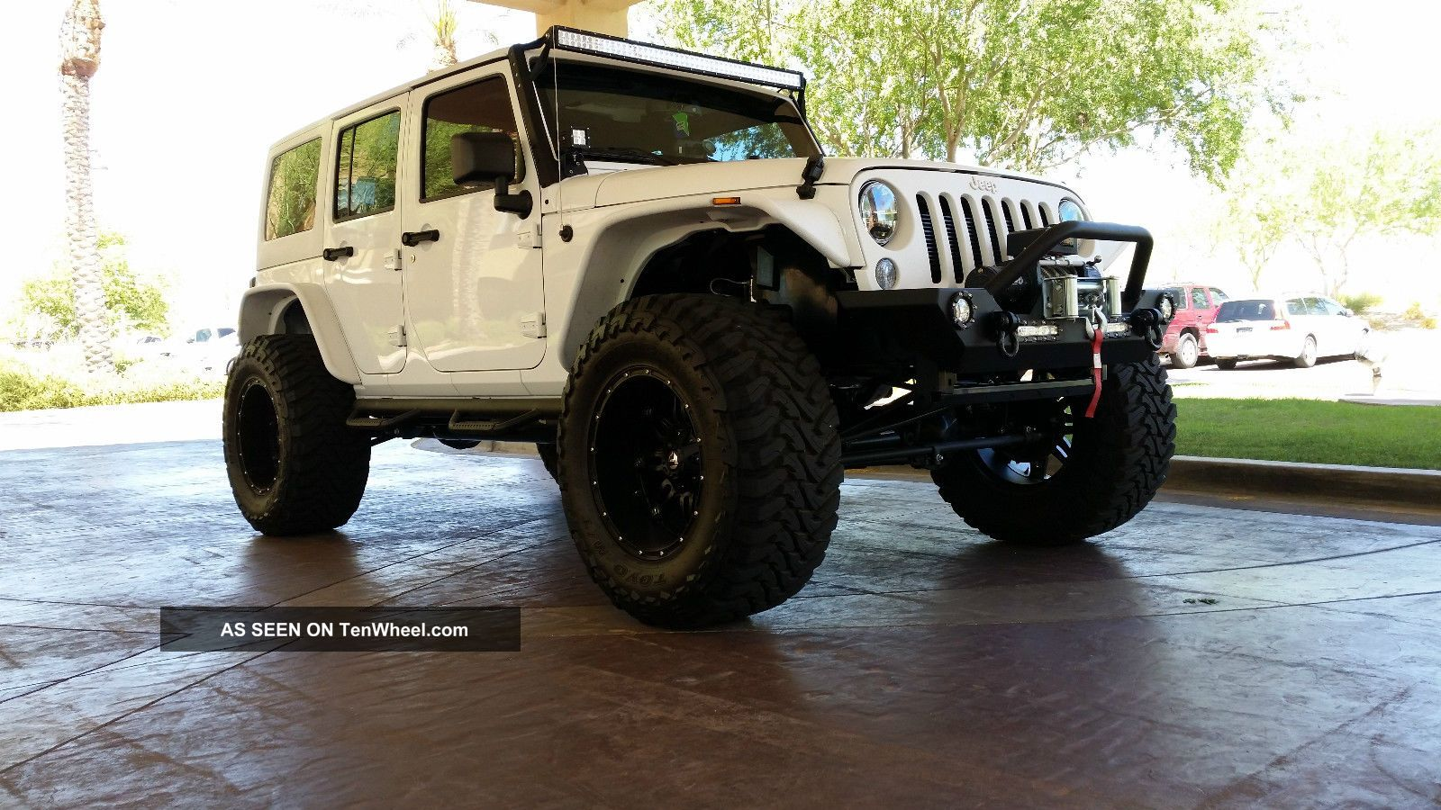 2014 Jeep Wrangler Fully Customized, Lifted