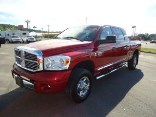 2009 Dodge Ram 3500 Laramie Crew Cab Pickup 4 - Door 6.  7l photo