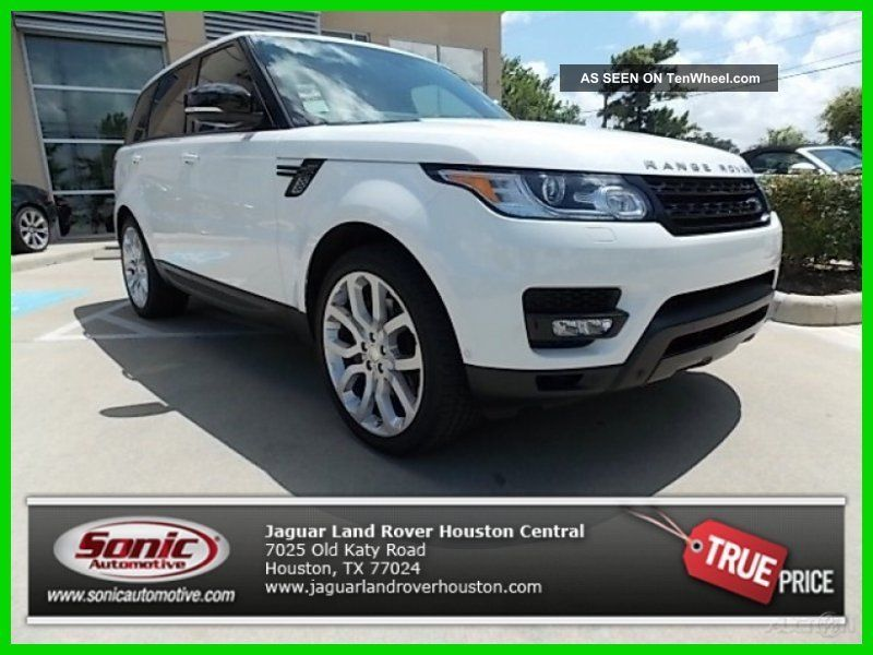 2014 5.  0l V8 Supercharged Dynamic Package Heated And Cooled Seats 510hp Meridian Range Rover Sport photo