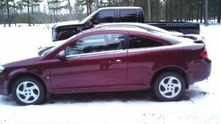 2008 Pontiac G5 Maroon 2 Door Coupe Standard Shift photo