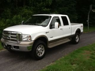 2005 Ford F - 250 Duty King Ranch Crew Cab Pickup 4 - Door 6.  0l photo