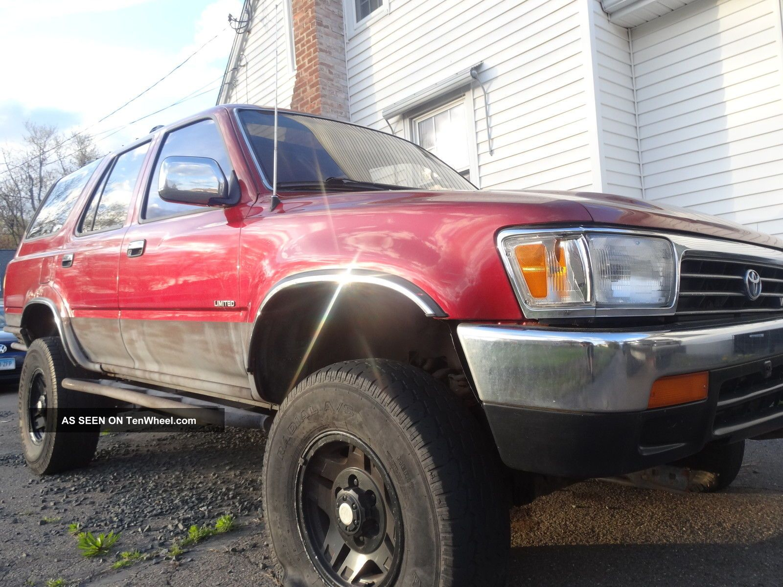 1995 Toyota 4runner 4x4 Limited Lifted Mud / Woods / Trail Truck Sr5 Title 4Runner photo