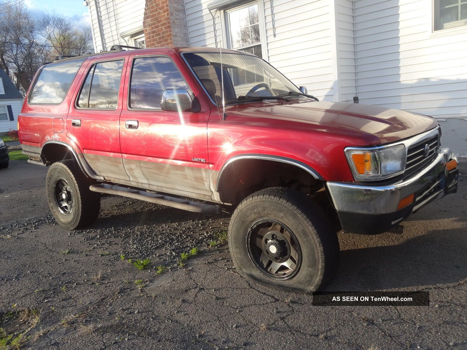 Toyota Runner X Limited Lifted Mud Woods Trail Truck Sr Title Lgw on Toyota 4runner V6 1995 Interior
