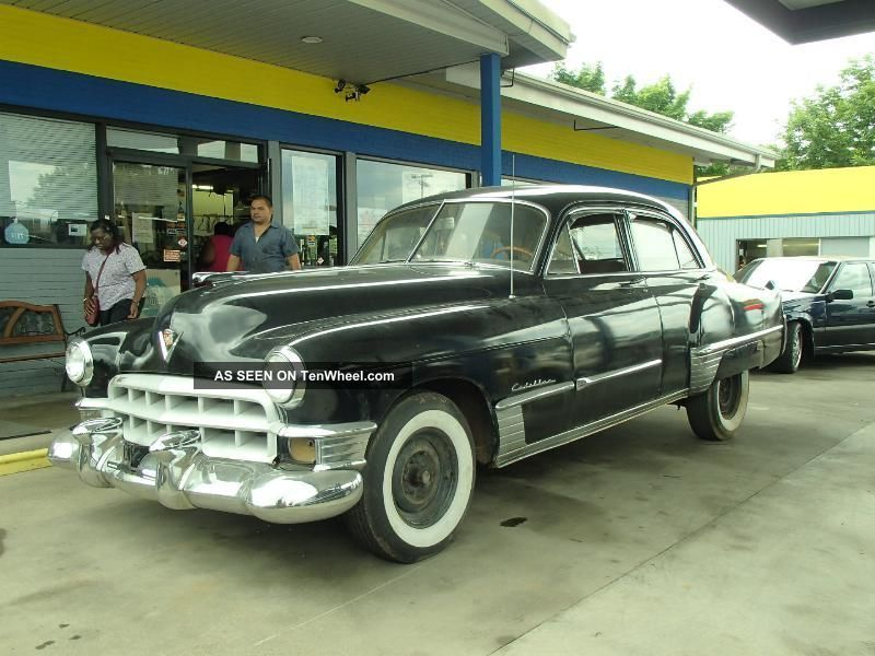 1949 cadillac sedan solid classic big as a limo priced to sell for 1949 cadillac 4 door sedan