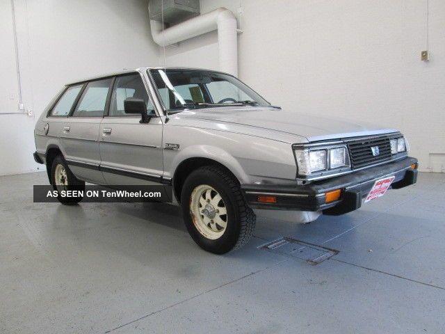 1983 Subaru Gl Other photo
