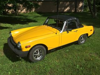 1979 Mg Midget Convertable No Rust photo