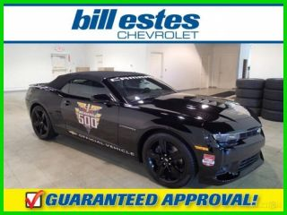 2014 2ss Indianapolis 500 Replica Pace Car 6.  2l V8 Camaro Convertible photo