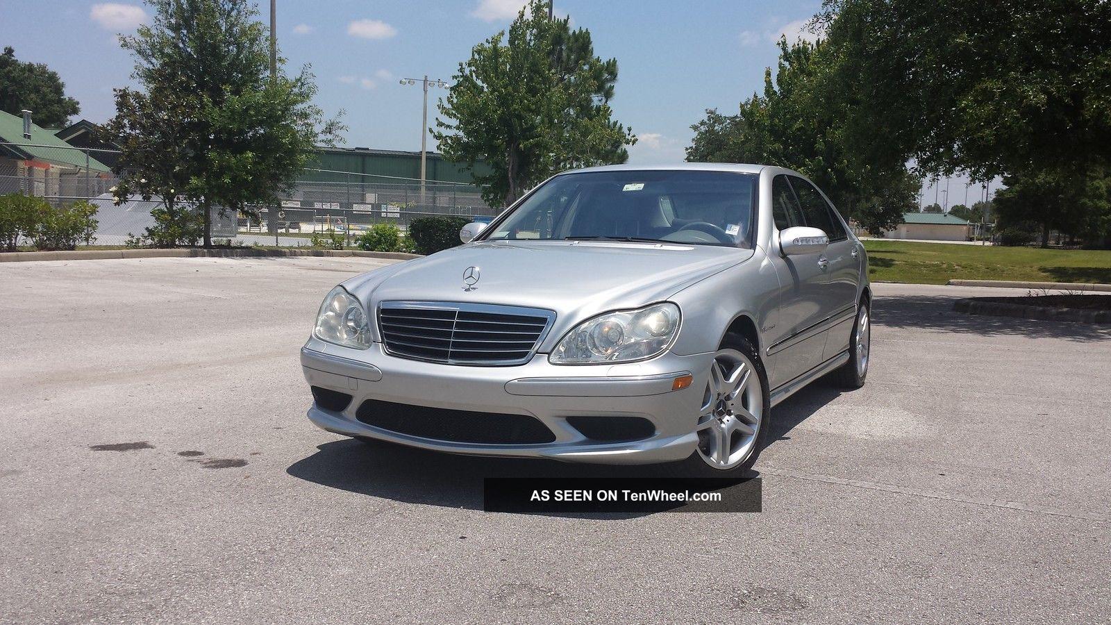 2004 mercedes benz s55 amg for Mercedes benz s55 amg for sale
