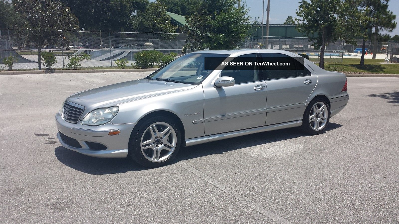 2004 mercedes benz s55 amg for Mercedes benz s55