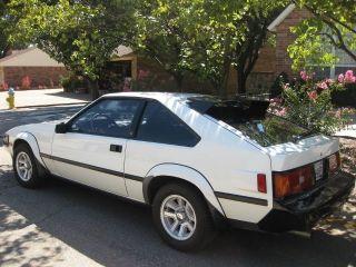 1983 Toyota Celica Supra Hatchback 2 - Door 2.  8l photo