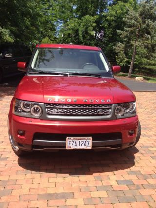 2010 Land Rover Range Rover Sport Supercharged Sport Utility 4 - Door 5.  0l photo