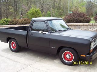 1987 Dodge Ram Custom 440 Matte Black photo