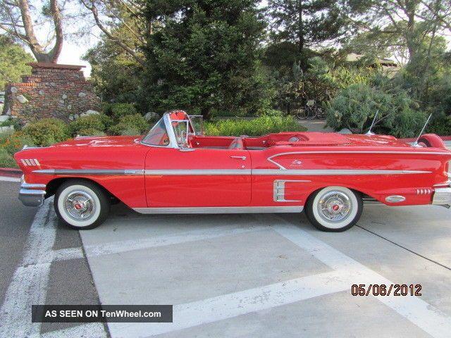 1958 Chevrolet Impala Convertible Impala photo