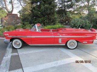 1958 Chevrolet Impala Convertible photo