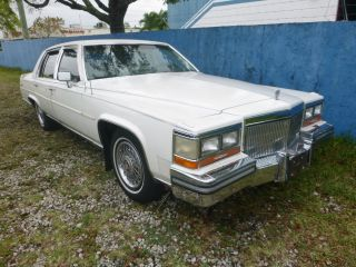 1989 Cadillac Brougham Deville Sedan 4 - Door 5.  0l,  307ci photo