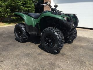 2012 Yamaha Grizzly Hunter Green photo