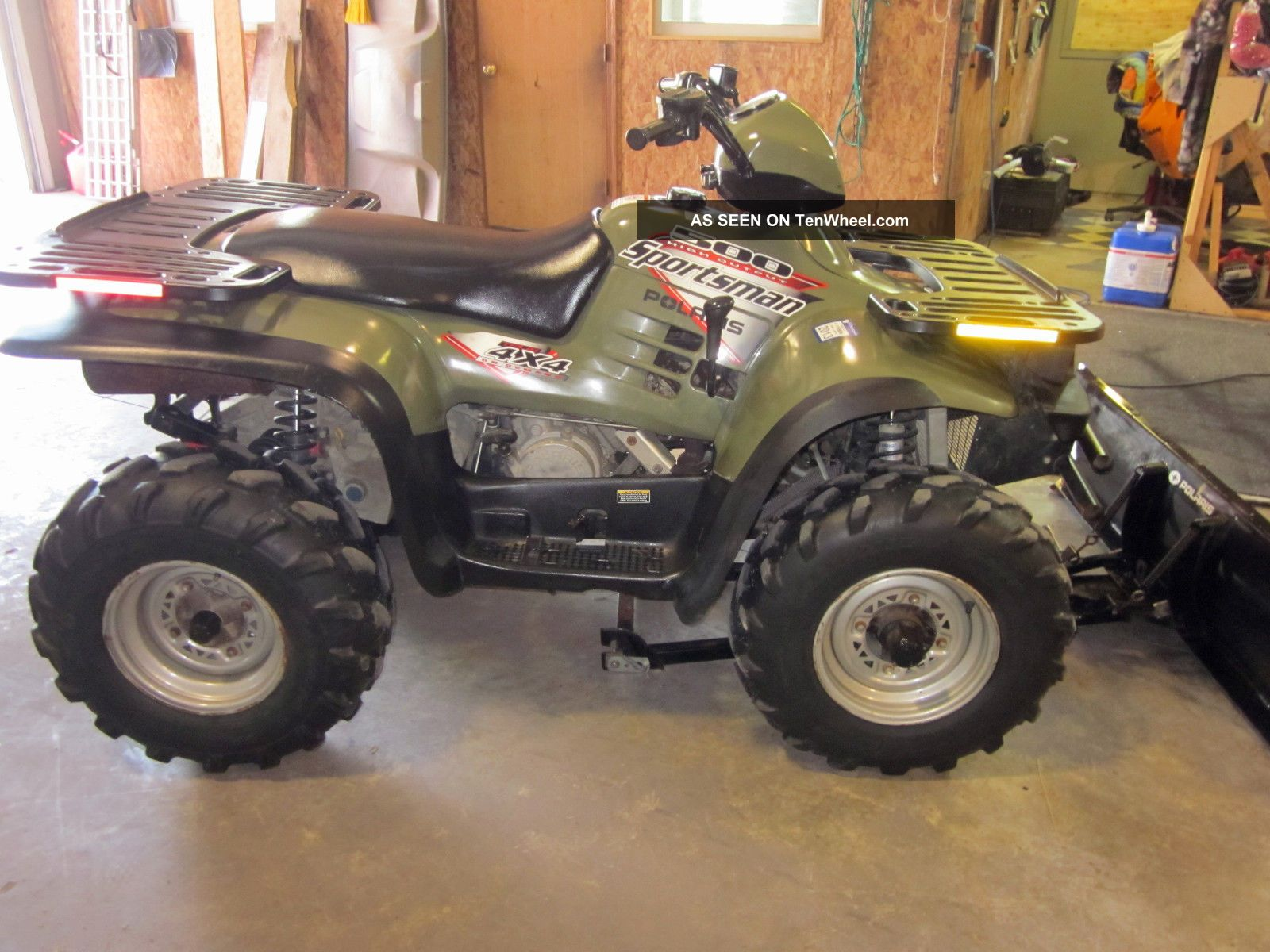 2003 Polaris Sportsman 500 H.  O.  Edition. Polaris photo