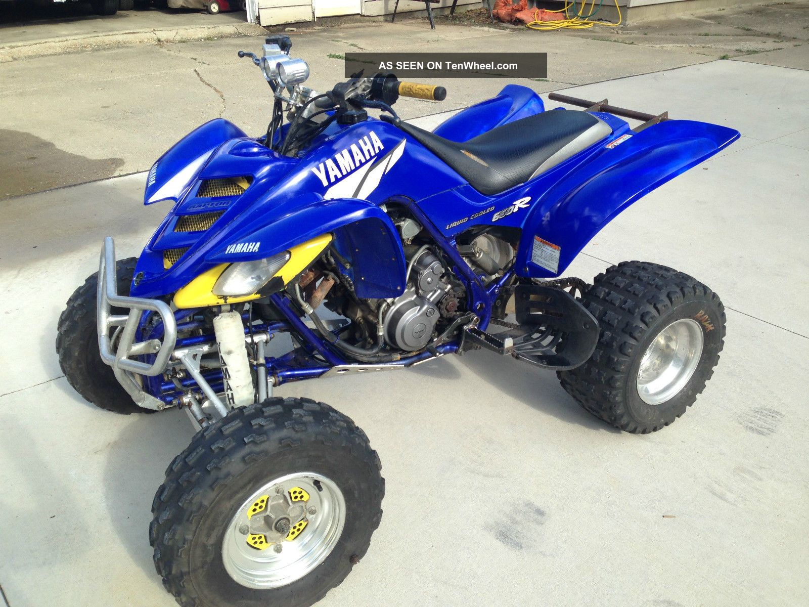 2002 Yamaha Raptor 660r Yamaha photo