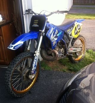 2002 Yamaha Yz250 photo