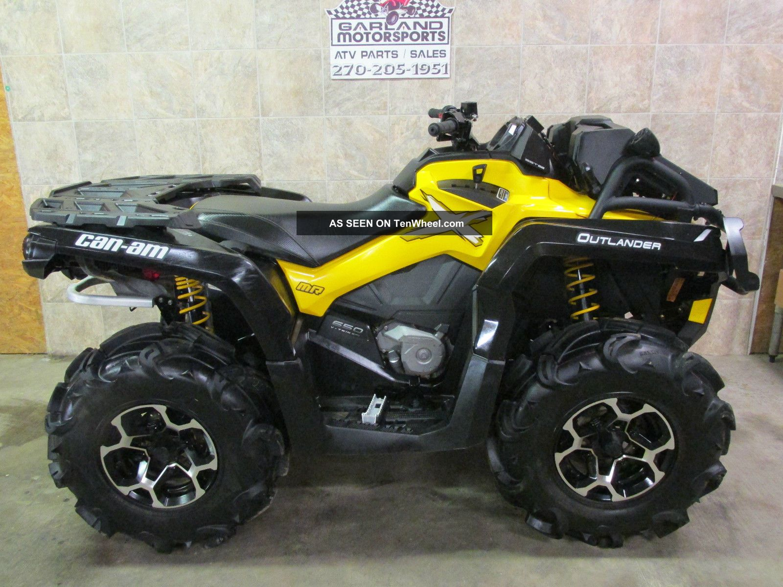 2014 Can Am Outlander Bombardier photo