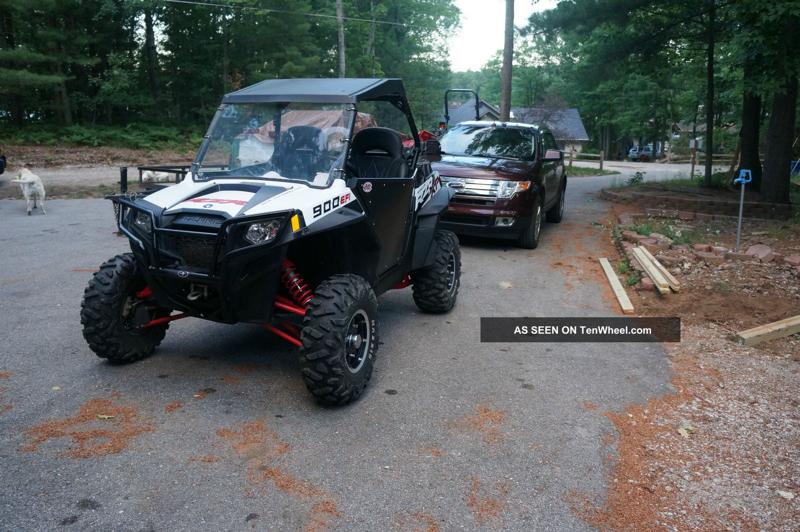 2012 Polaris Rzr 900 Xp White Lightning Polaris photo