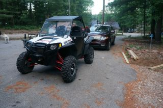 2012 Polaris Rzr 900 Xp White Lightning photo