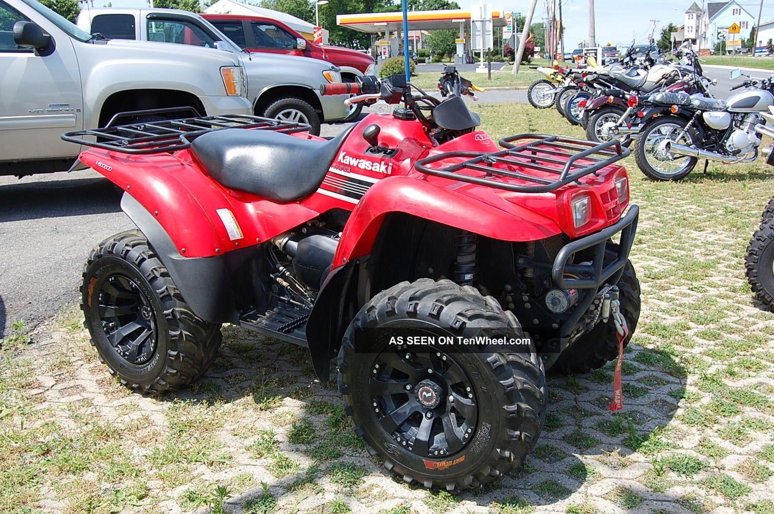 2008 Kawasaki Kvf360a8f Kawasaki photo