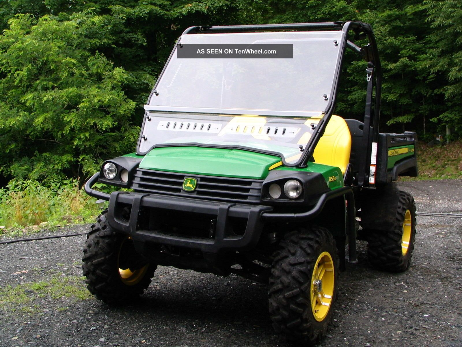 2012 John Deere Gator 855d UTVs photo