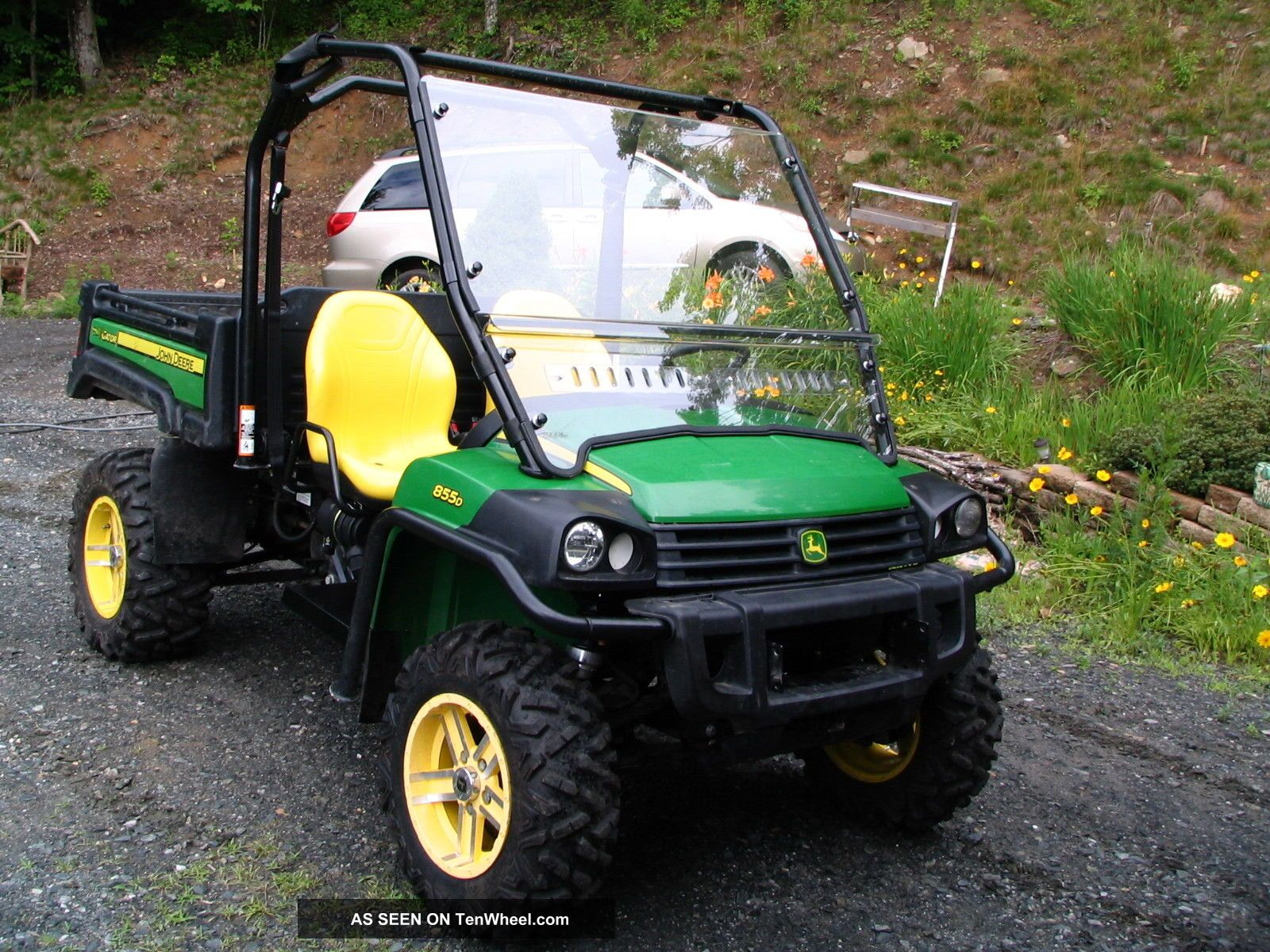 2012 john deere gator 855d. Black Bedroom Furniture Sets. Home Design Ideas