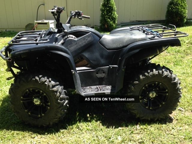 2012 yamaha grizzly 700 for Yamaha grizzly 800