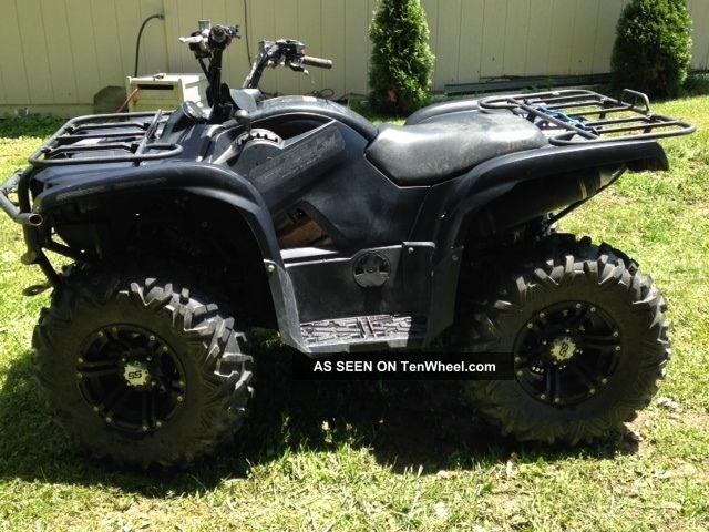 2012 Yamaha Grizzly 700 Yamaha photo